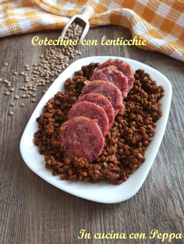 cotechino con lenticchie