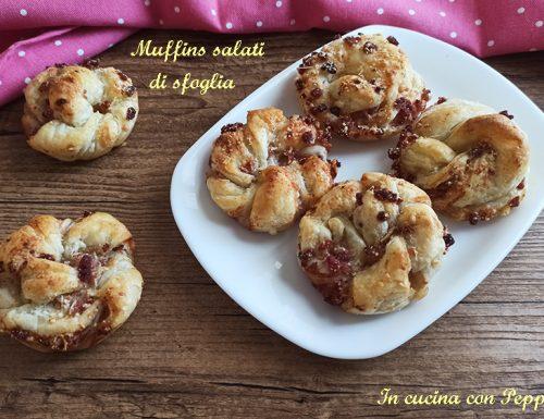 Muffins salati di sfoglia, gustosi e velocissimi