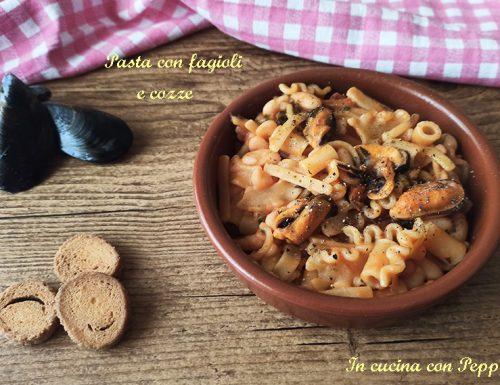 Pasta e fagioli con cozze, ricetta napoletana