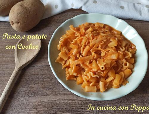 Pasta e patate con Cookeo pronta in pochi minuti
