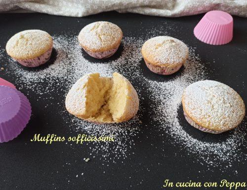 Muffins sofficissimi semplicissimi e veloci