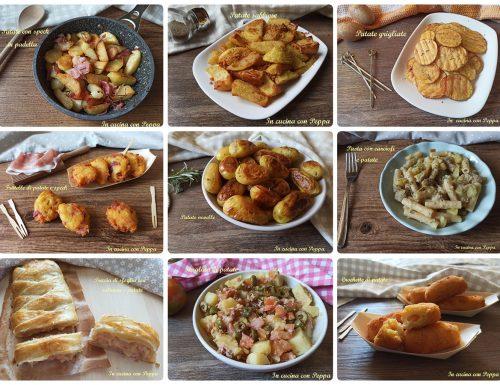 Ricette con patate, tante idee gustose e sfiziose