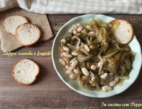 Zuppa scarole e fagioli con Cookeo in poco tempo