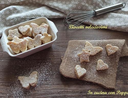 Biscotti velocissimi con microonde