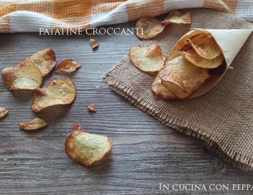 Patatine croccanti come quelle nel sacchetto