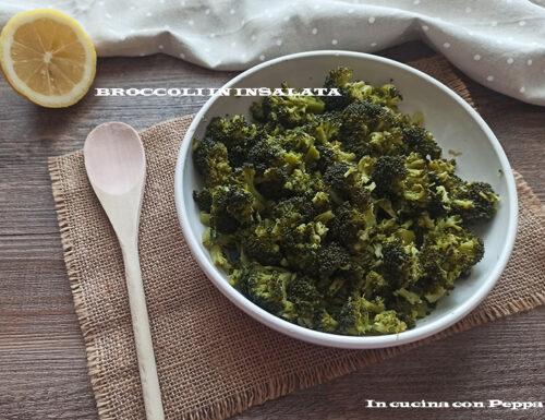 Broccoli in insalata, contorno leggero e gustoso