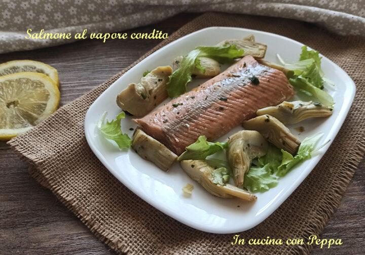 salmone condito con cookeo