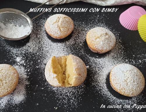 Muffins sofficissimi con bimby