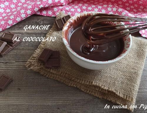 Ganache al cioccolato semplice e veloce