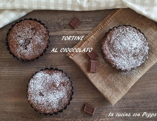 Tortine al cioccolato golose e velocissime