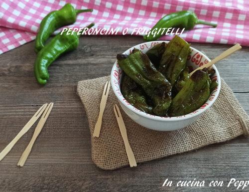 Peperoncini verdi con friggitrice ad aria