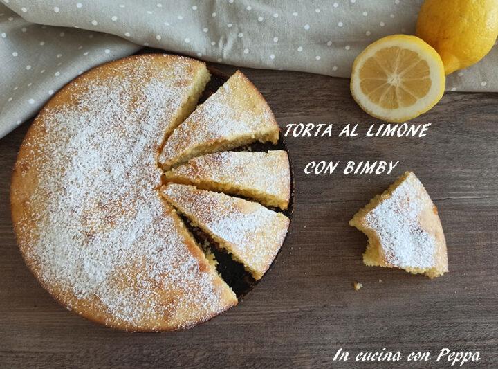 torta al limone con bimby
