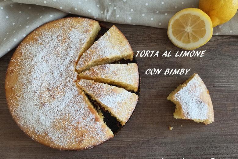 Torta al limone con Bimby sofficissima