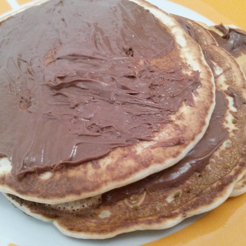 Pancake alla nutella