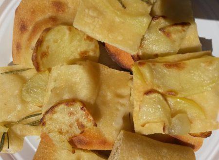 Focaccia patate e rosmarino