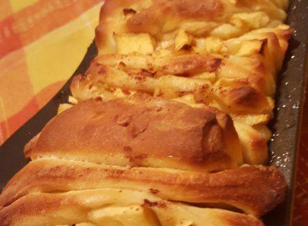 Pane dolce mele e cannella (con lievito madre)