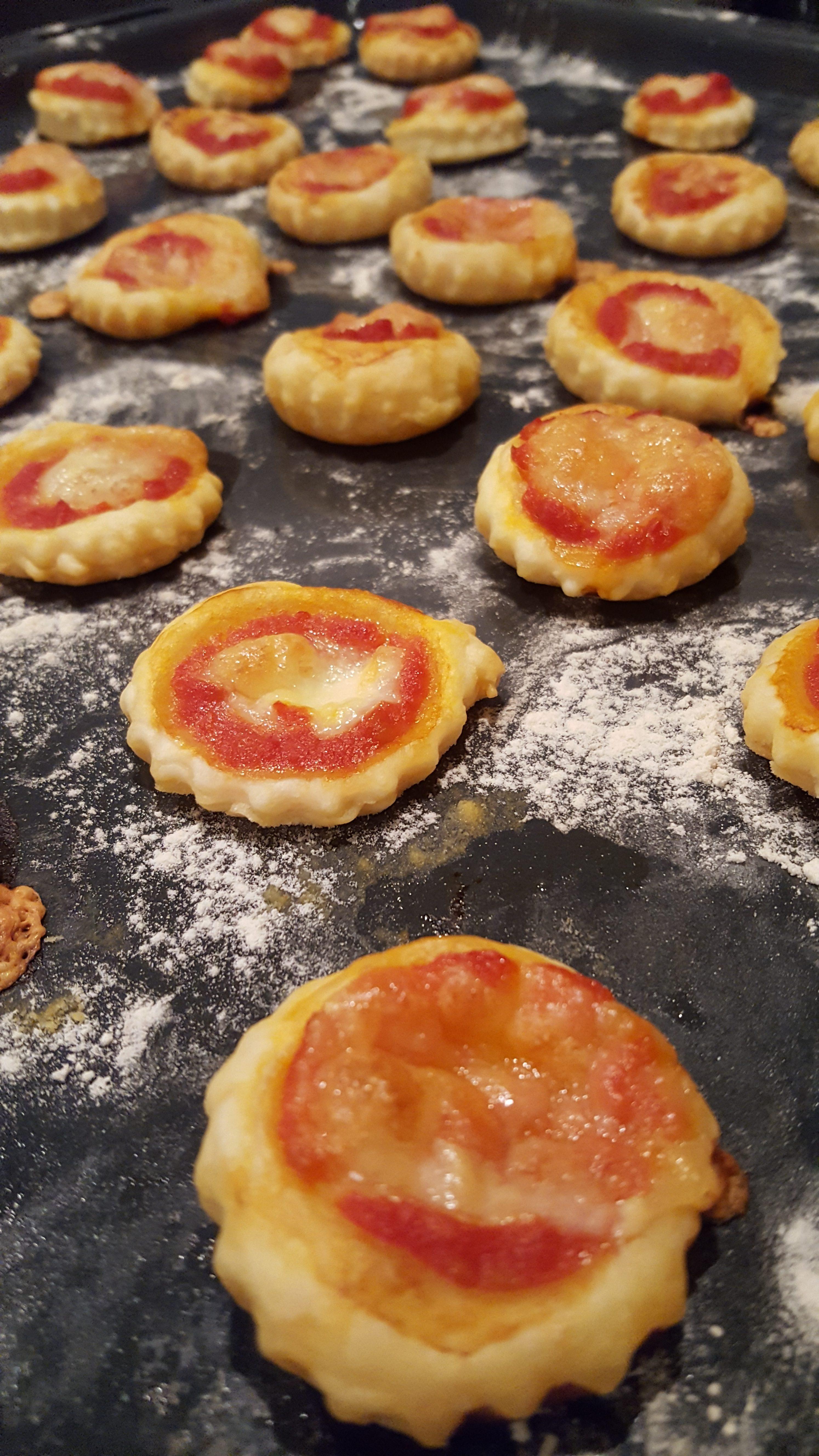 Pizzette di sfoglia