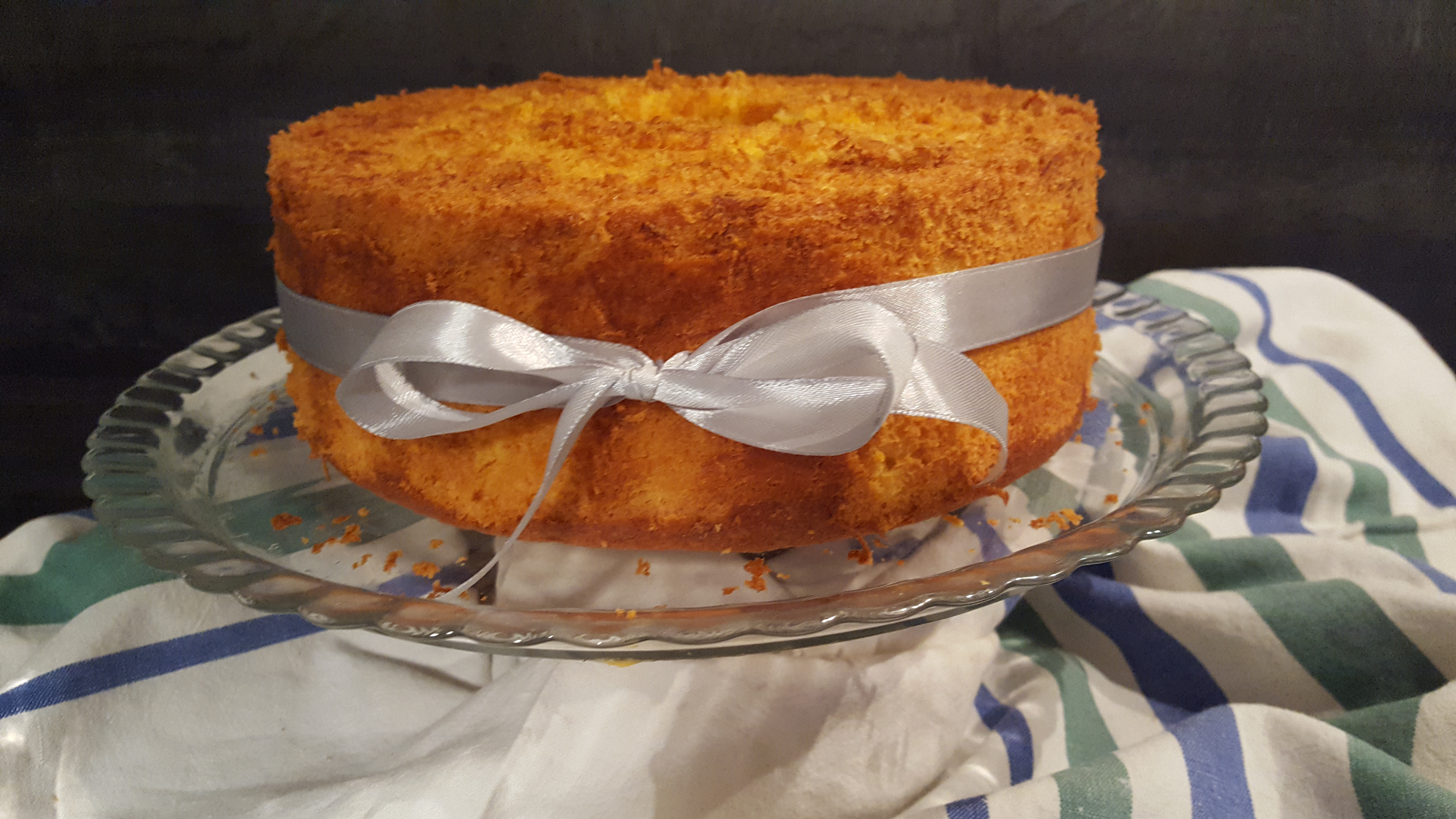 Chiffon cake alle carote