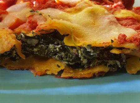 Cannelloni ricotta e spinaci con sugo e mozzarella