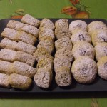 biscottini nocciole e pistacchi e cuore di cioccolato