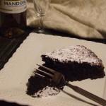 torta cacao e amaretti senza uova
