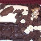 Decorazione …. cioccolato plastico
