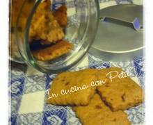 Biscotti di kamut alle mandorle e cannella (ricetta vegan)