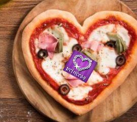 #RicettediSanValentino: Cuori di pizza