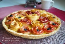 Crostata di rose di mele, ricetta sfiziosa