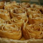 crostata di rose di mela ricetta semplice Il ricettario di Sabrina