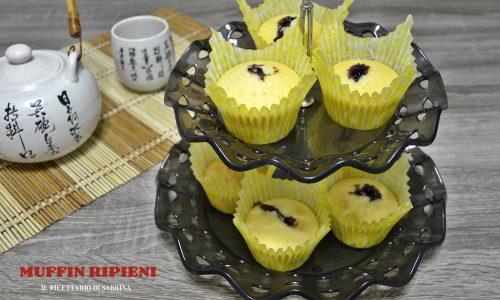 Muffin ripieni, ricetta facilissima