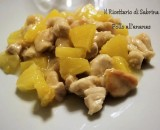Pollo all'ananas, ricetta semplice ( English version)