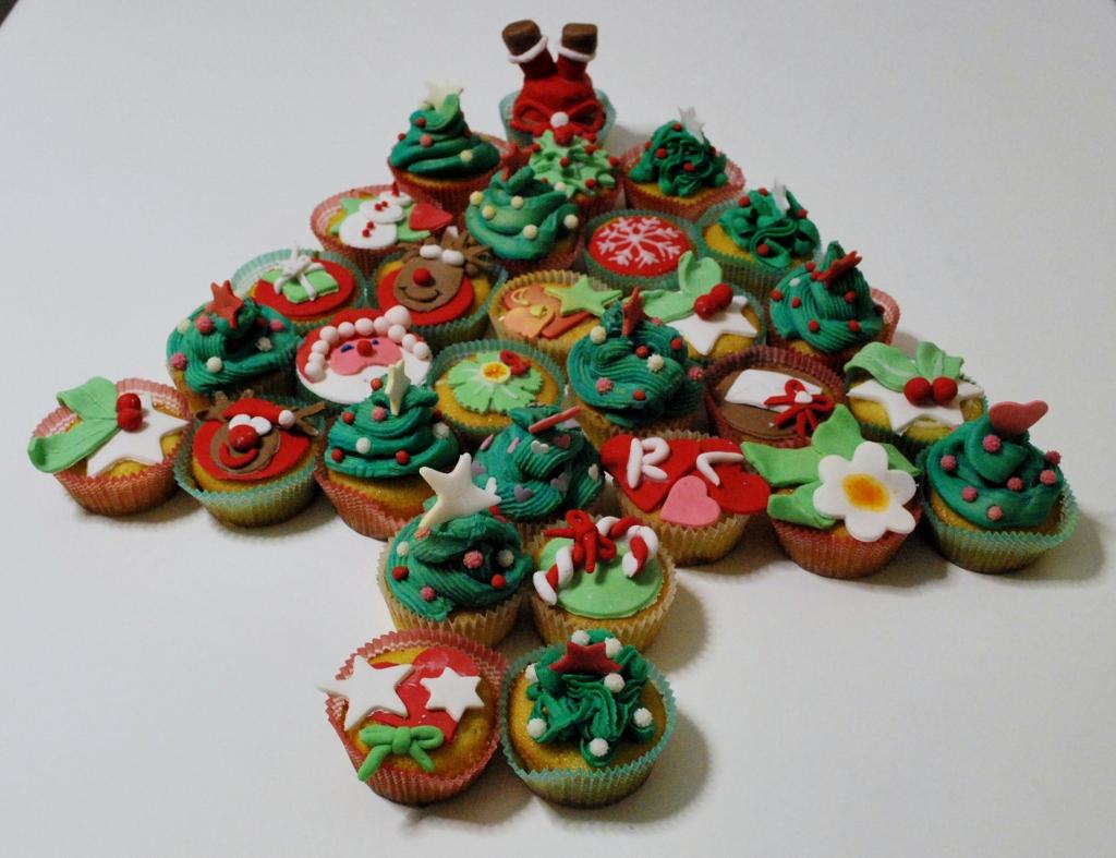 Cupcakes di Natale ricetta golosa Il ricettario di Sabrina