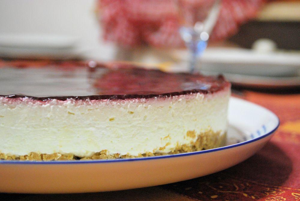 Cheesesake senza gelatina
