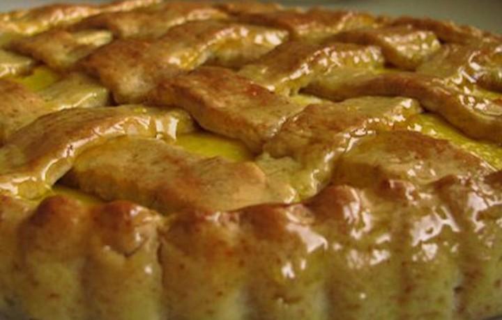 Crostata mandorlata alla crema, ricetta dolce