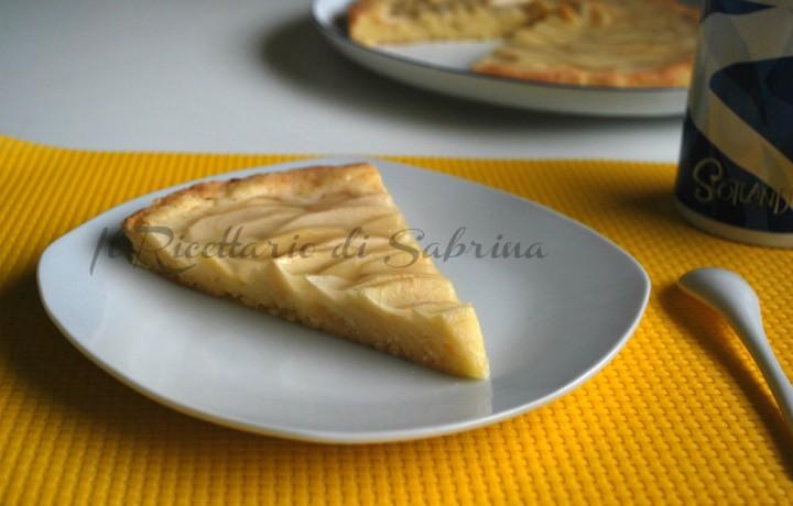 Crostata di mele, ricetta classica con brio :)