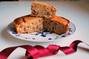 Torta vegana alla frutta secca- Vegan cake