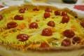 Crostata salata fantasia , ricetta senza latticini - Quiche with vegetables-