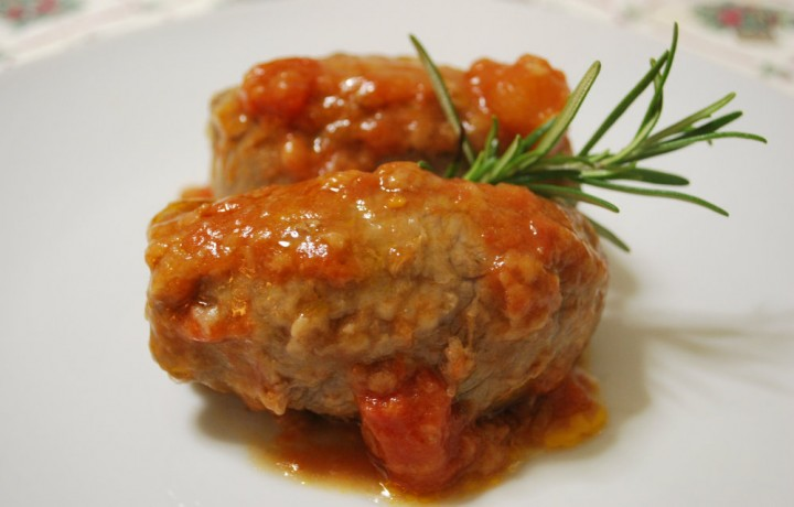 Involtini in salsa