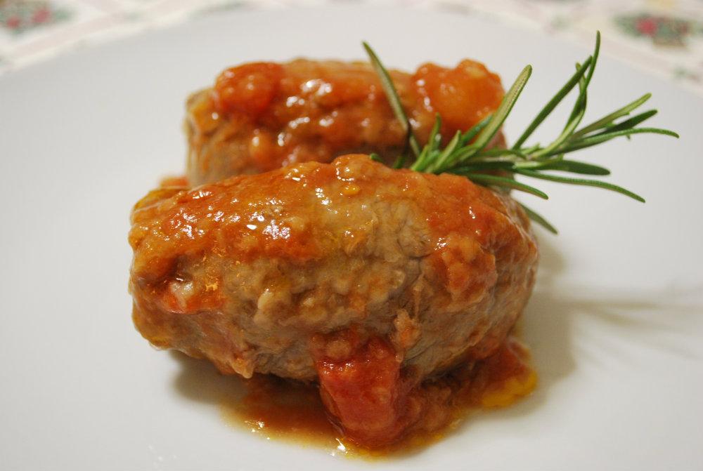 Involtini in salsa