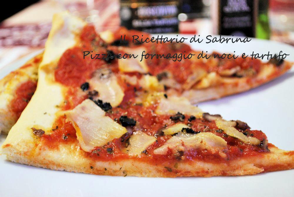 Pizza-con-formaggio-di-noci-e-tartufo