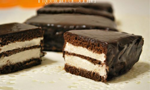 Tortine cioccolato e panna, ricetta golosa
