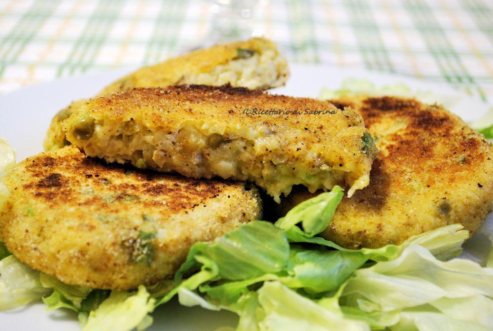 Medaglioni di patate alle verdure