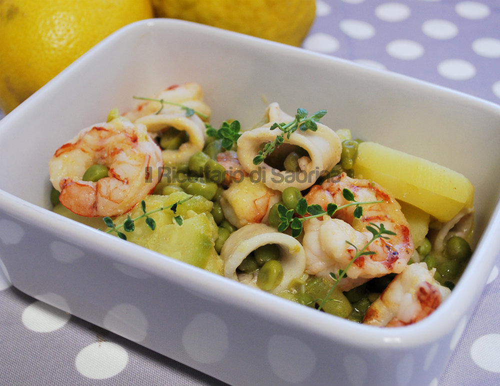 Ricerca ricette con insalata di mare con verdure for Ricette con verdure