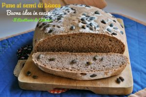 Pane ai semi di zucca