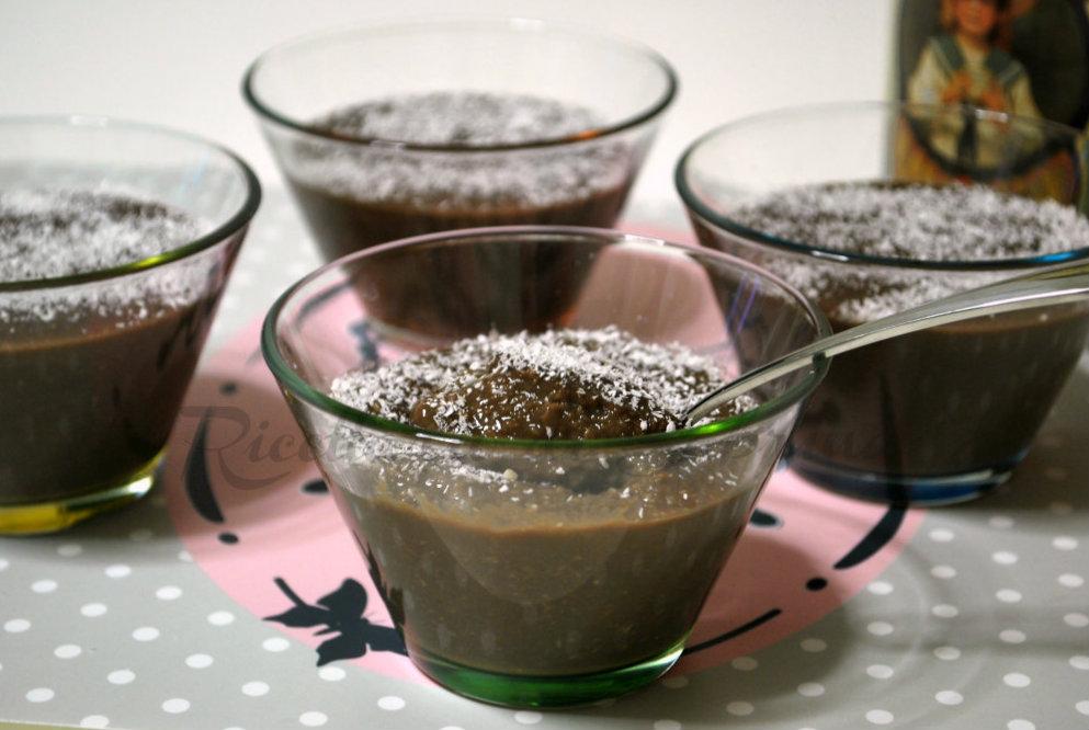 Crema di cioccolato al cocco