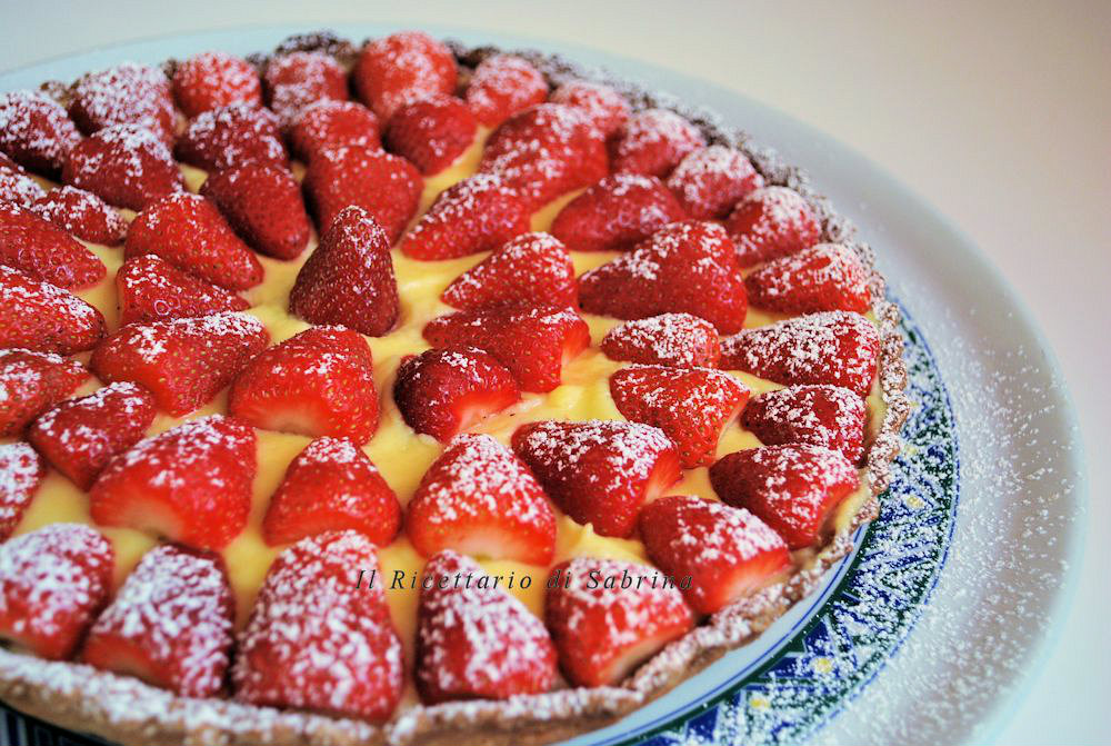 Crostata-alle-fragole