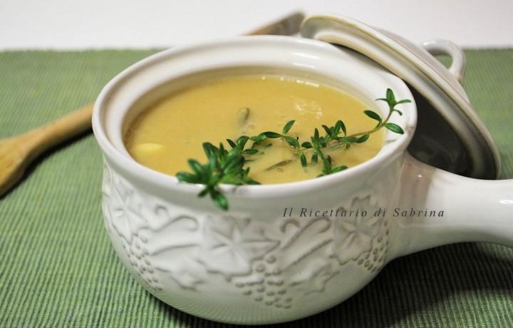 Vellutata di ceci o zuppa di ceci