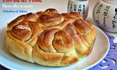 Torta di rose, pan brioche