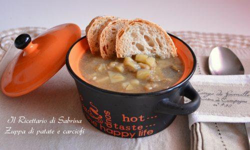 Zuppa di carciofi e patate, Mangiando Naturale e Festa della Donna
